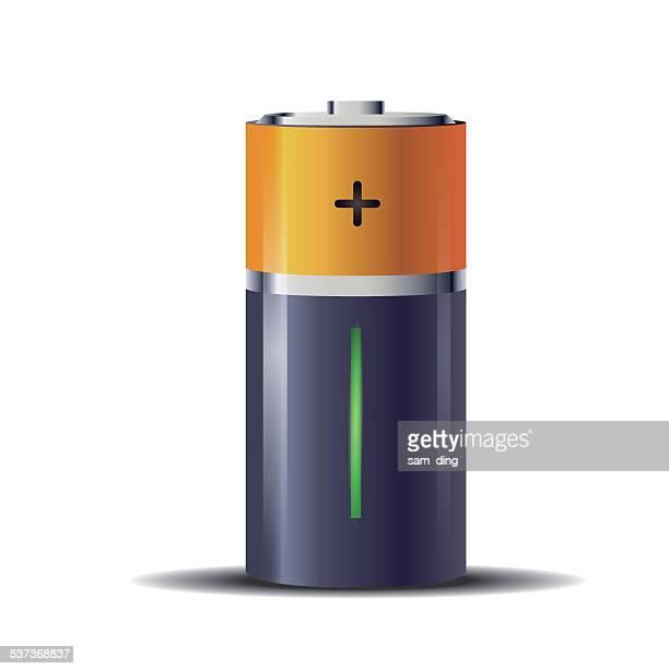 battery - alkaline stock illustrations