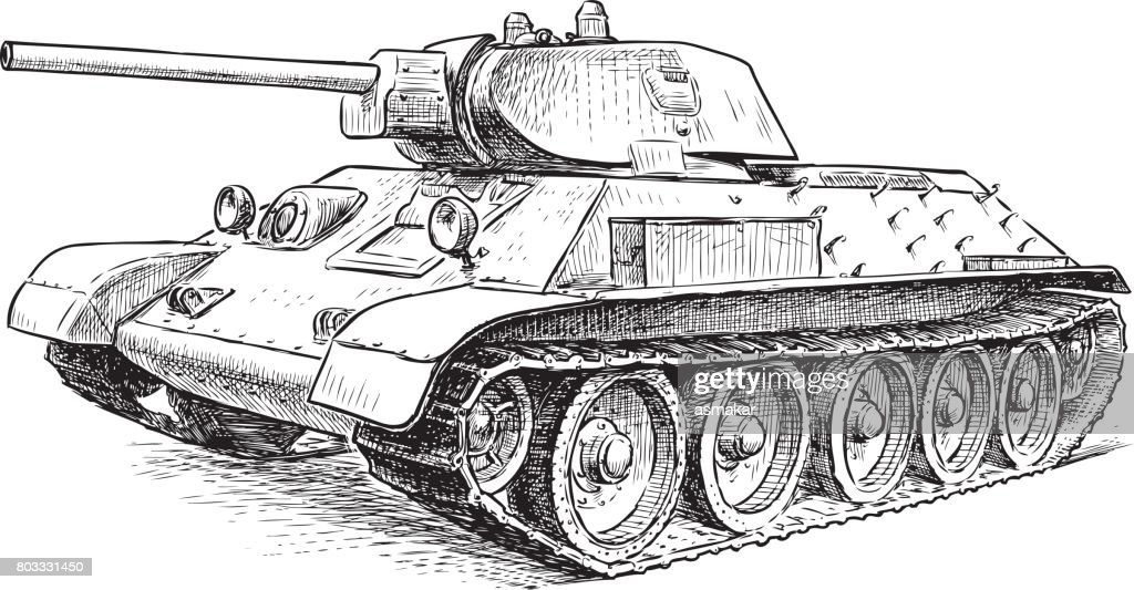 battle tank of the Second World War time