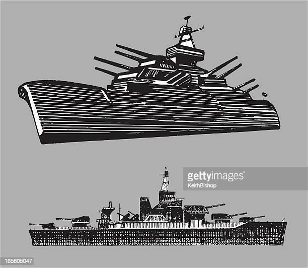 battleships - navy - battleship stock illustrations
