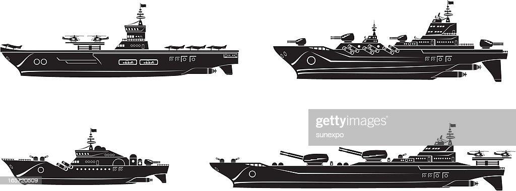 Battleships set