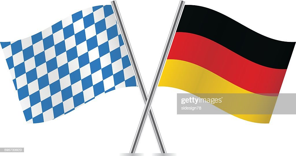Bavaria and Germany flags.