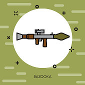 Bazooka Military Icon