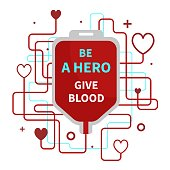 Be a hero - give blood.