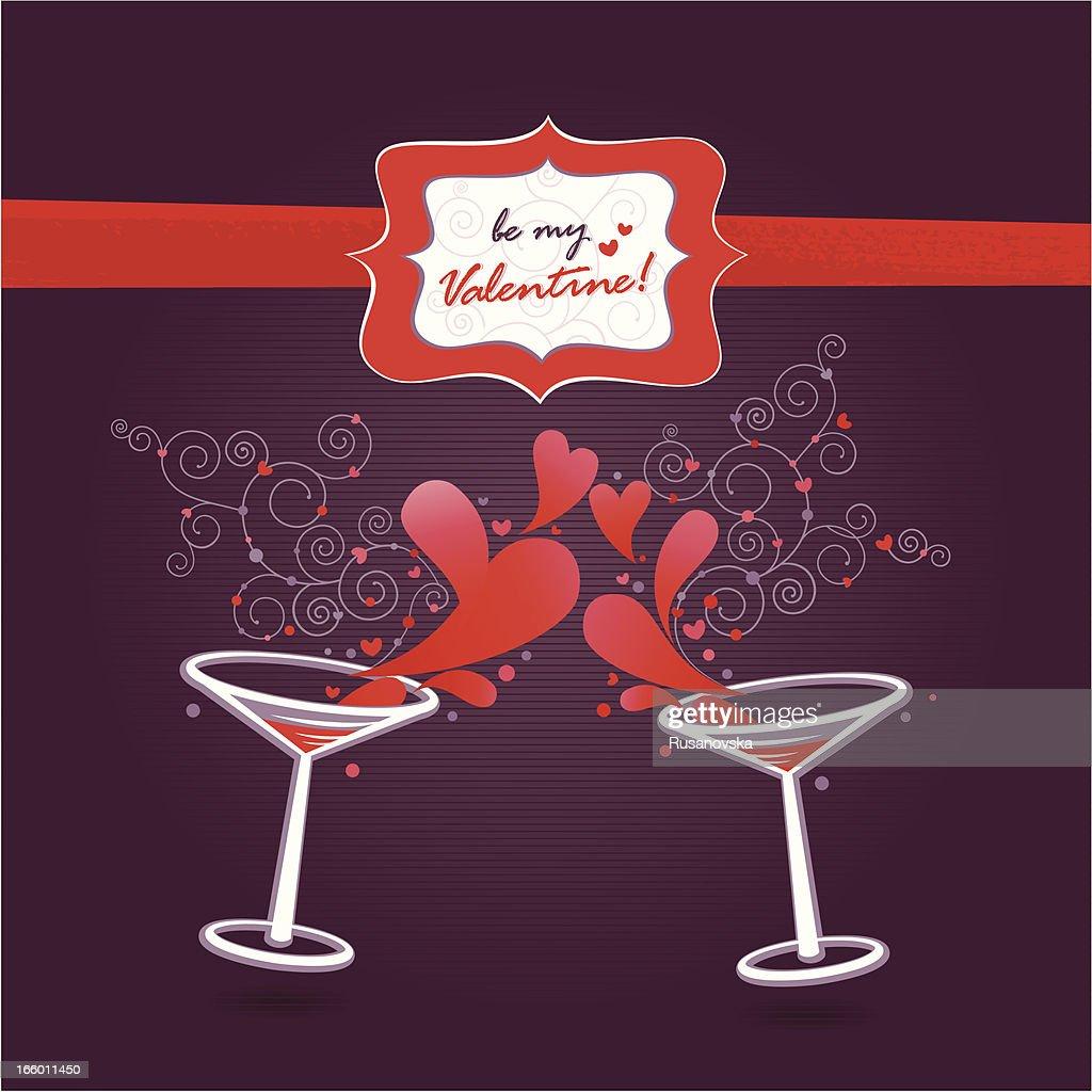 Be my Valentine! (Greetings Card)