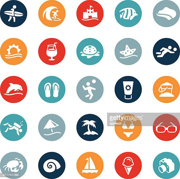 Beach and Recreation Icons