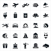 Beach Resort Icons