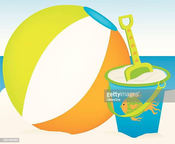 Strandspielzeug