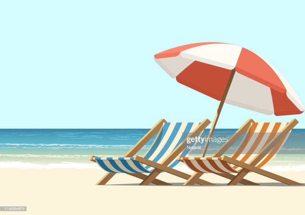 Beach : Illustrazione stock