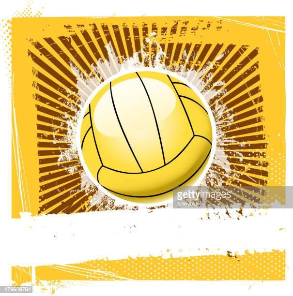 ilustraciones, imágenes clip art, dibujos animados e iconos de stock de fondo de voleibol de playa - vóleibol de playa