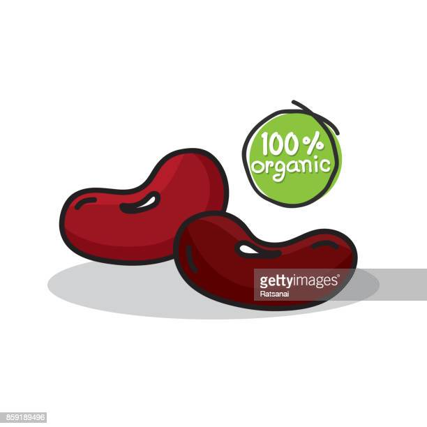 bean seed - bean stock illustrations, clip art, cartoons, & icons
