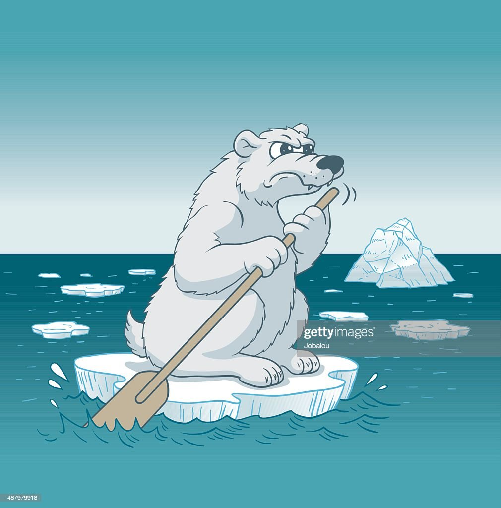 Bear Angry With Climate Change