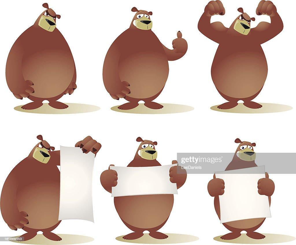 Bear Cartoon Collection
