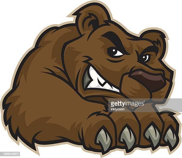 Bear Claw Mascot