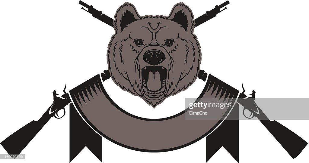 Bear head (hunting trophy)