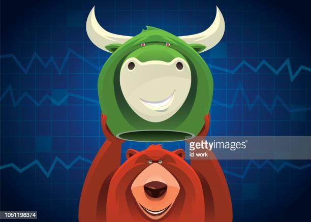 ベアー牛マスクを保持