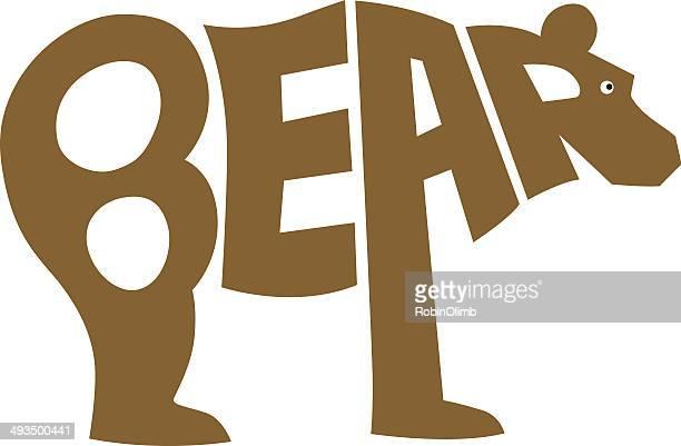 ilustraciones, imágenes clip art, dibujos animados e iconos de stock de oso de cartas - oso pardo