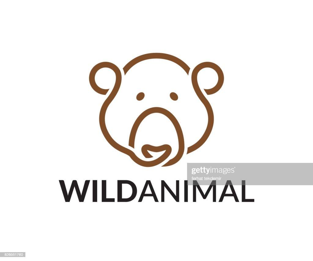 Bear vector icon