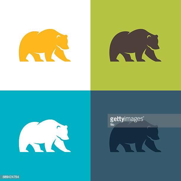 illustrations, cliparts, dessins animés et icônes de bear  - ours polaire