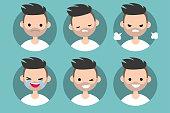 Bearded man profile pics