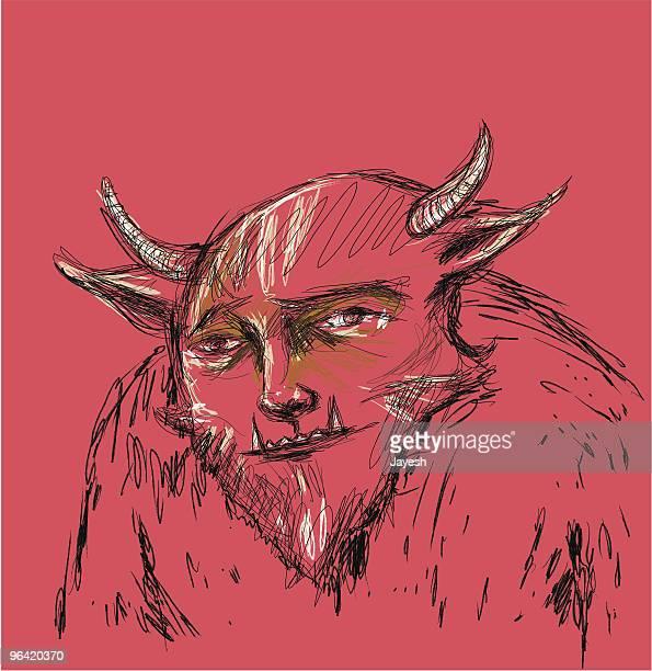 beast - genetic mutation stock illustrations