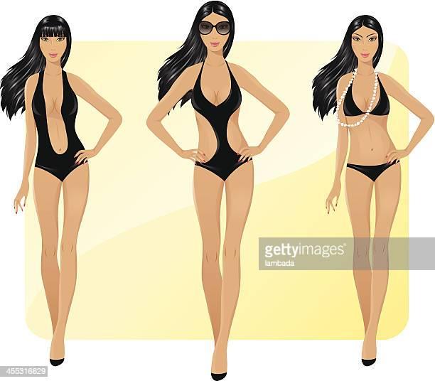 Beauties in bikini