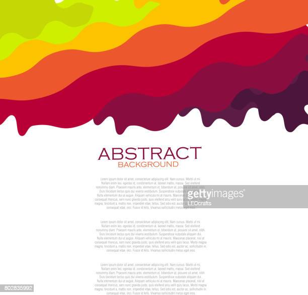 beautiful abstract background - dipping stock illustrations, clip art, cartoons, & icons