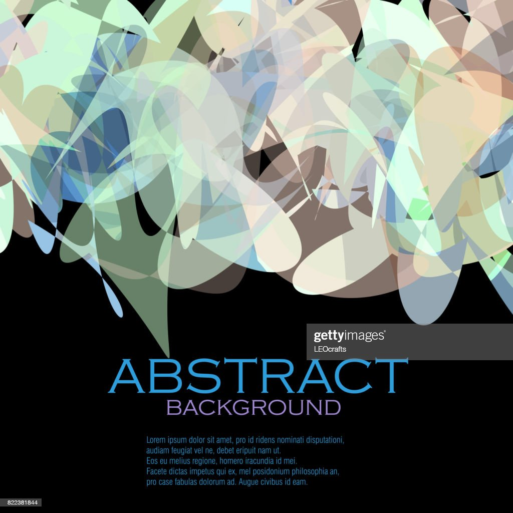 Beautiful Abstract Background : stock illustration