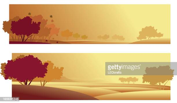 Beautiful autumn Background/Banners