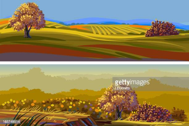 Beautiful Autumn Landscape/Banners