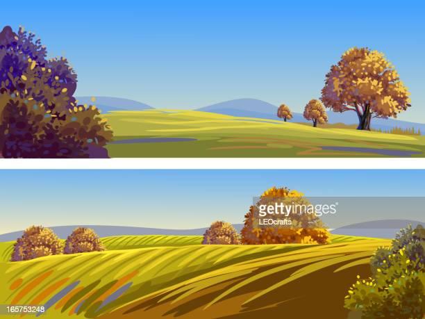 Beautiful Autumn Landscapes/Banners