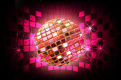 Beautiful Disco ball with Splashy Lights