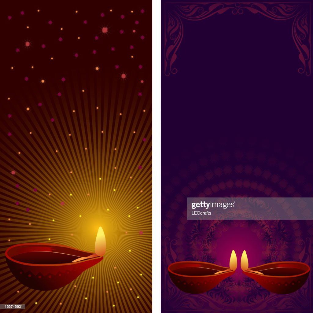 Beautiful Diwali Background/Banners