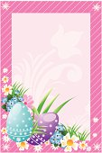 Beautiful Easter frame