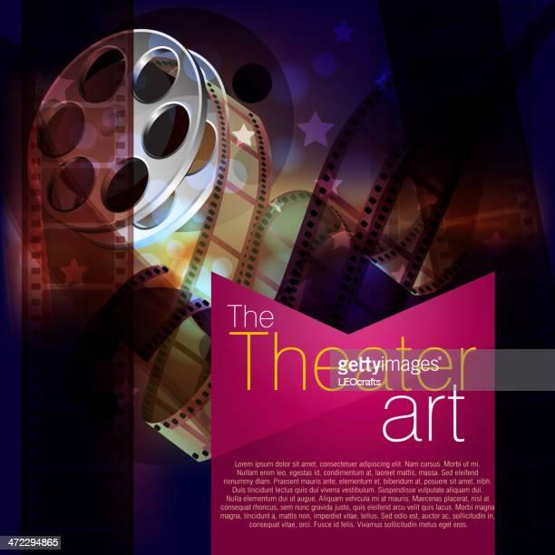 Beautiful Film Reel Background