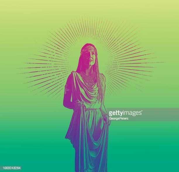 Wunderschöne Göttin
