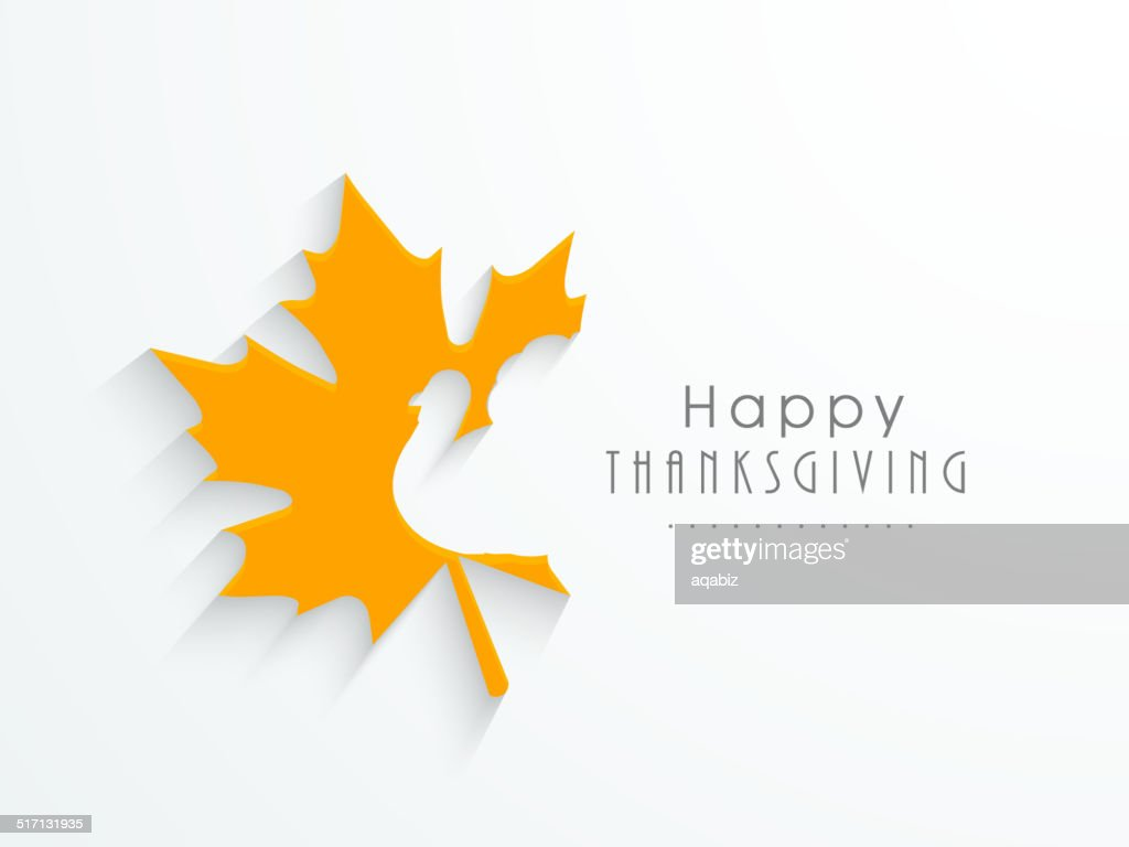 Beautiful greeting card design for Happy Thanksgiving day.