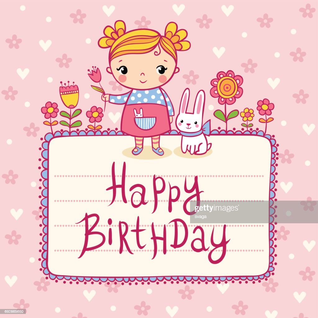 Beautiful happy birthday greeting card with flowers vector art beautiful happy birthday greeting card with flowers vector art izmirmasajfo