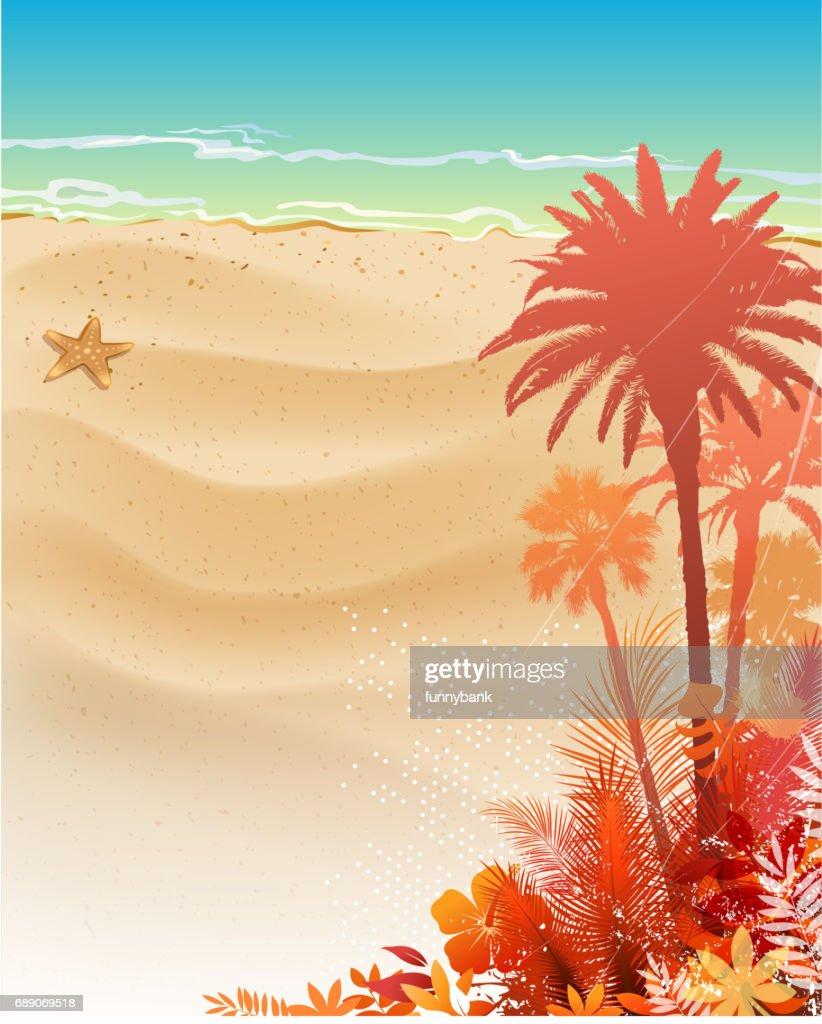 beautiful holiday : Stock Illustration