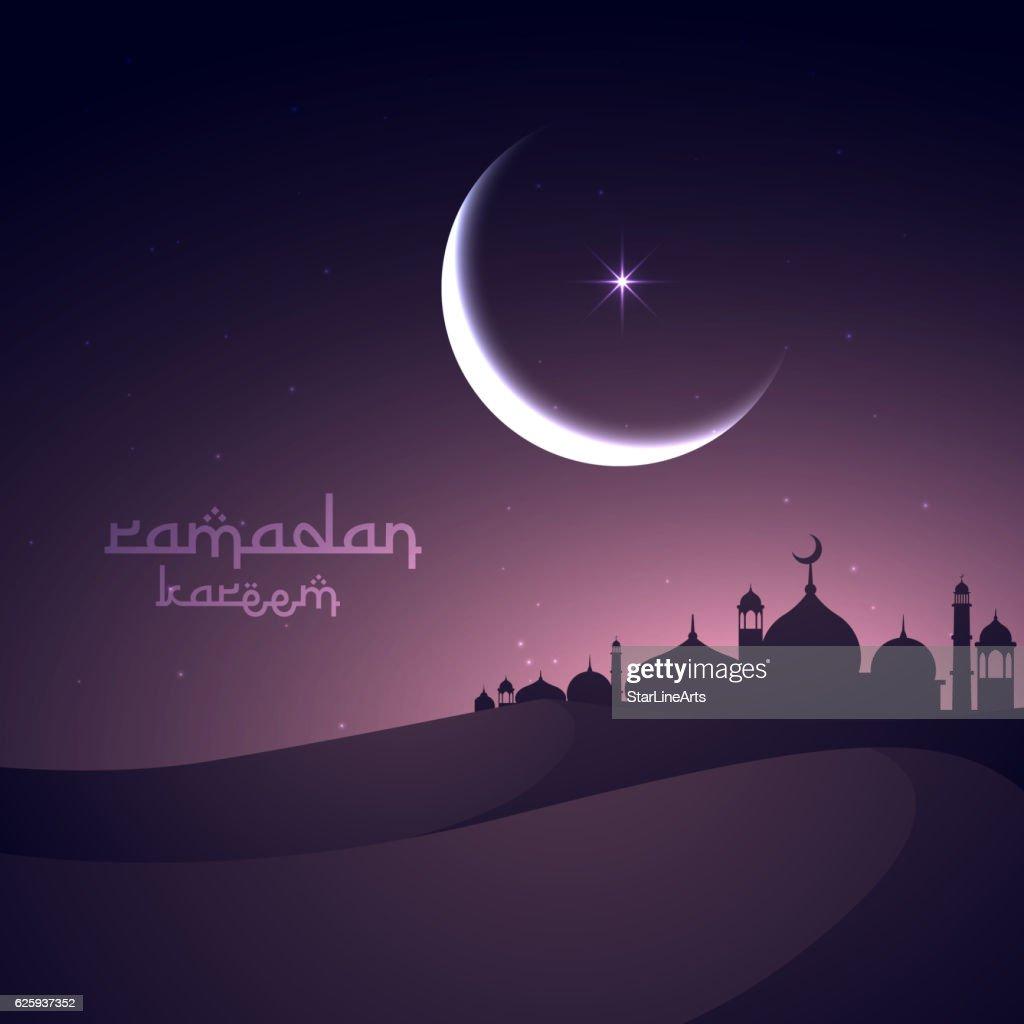 beautiful holy festival eid and ramadan background