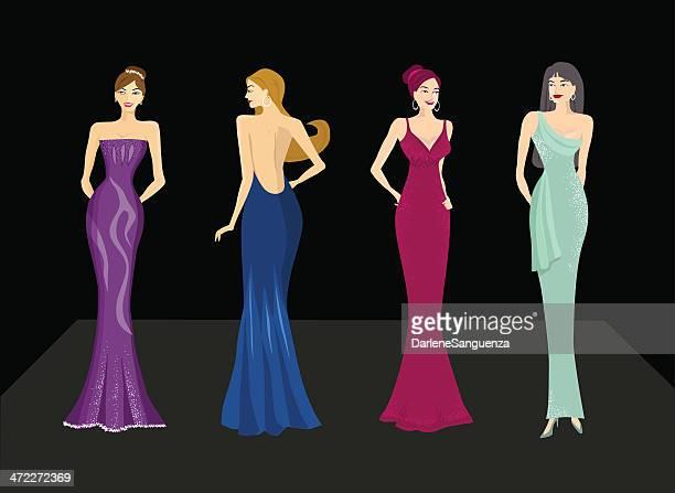ilustraciones, imágenes clip art, dibujos animados e iconos de stock de hermosa mujer - reina de belleza