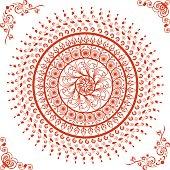 Beautiful Mandala(Circle) Design