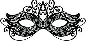 Beautiful Masquerade Mask