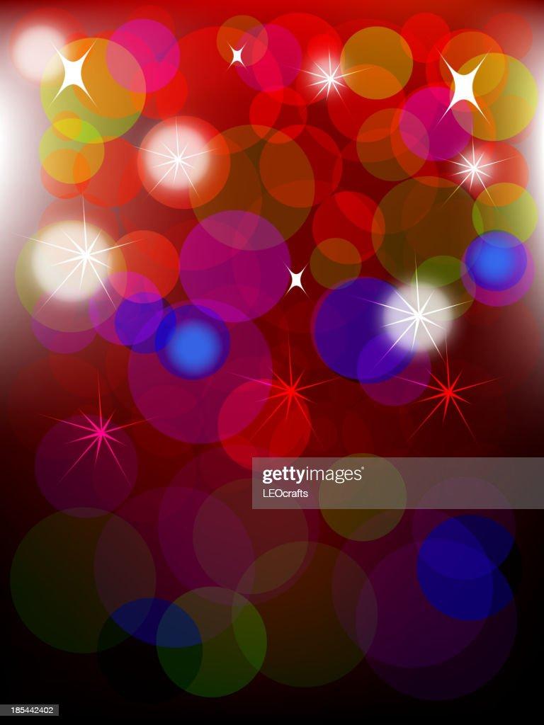 Beautiful New Year Celebration/Christmas Background