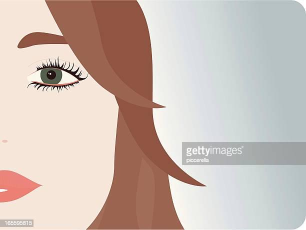 Beautiful portrait of woman