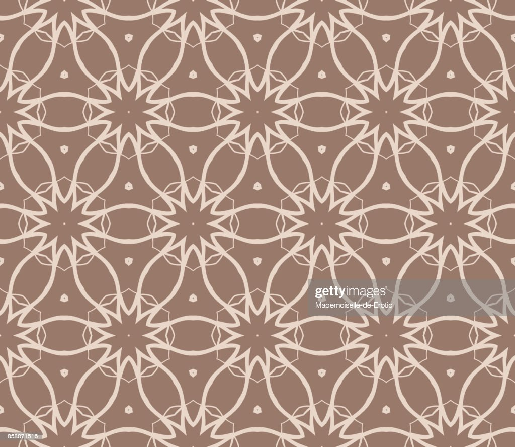 Beautiful seamless geometric pattern with abstract floral design beautiful seamless geometric pattern with abstract floral design modern vector illustration for design print textile product invitation background beige stopboris Images