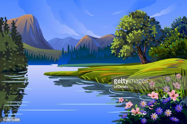 Beautiful Spring background/Landscape