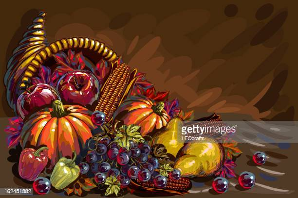 illustrations, cliparts, dessins animés et icônes de beau fond de thanksgiving - thanksgiving