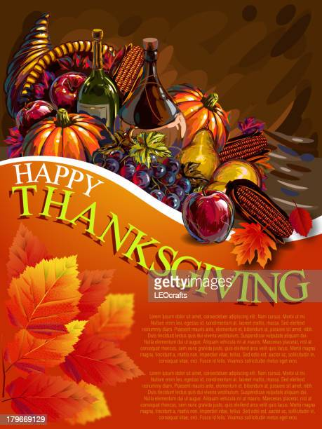 Beautiful Thanksgiving Background