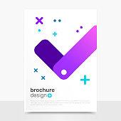 Beautiful Vector Brochure Design. Approved Vector Flyer Mockup. Brochure Templates