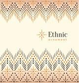 Beautiful vintage ethnic ornament background